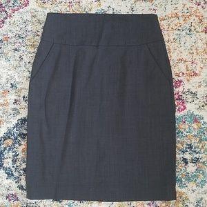 Banana Republic tall pencil skirt